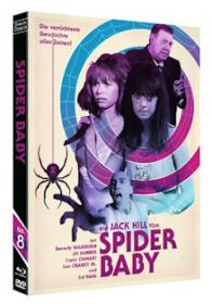 Spider Baby (Limited Edition, Blu-ray+DVD) (1967) [FSK 18] [Blu-ray]