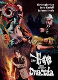 Die Hexe des Grafen Dracula (3 Disc Limited Mediabook, Blu-ray+2 DVDs, Cover B) (1968) [Blu-ray]