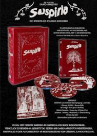 Suspiria (3 Disc, 40th Anniversary Leatherbook Edition, Blu-ray+DVD) (1977) [FSK 18] [Blu-ray]