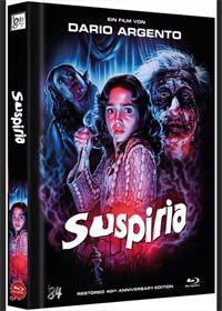 Suspiria (Limited Mediabook, Restored 40th Anniversary Edition) (1977) [FSK 18] [Blu-ray]