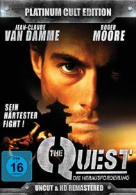 The Quest - Die Herausforderung (Uncut & HD-Remastered - Platinum Cult Edition) (1996) [Blu-ray]