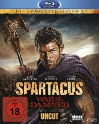 Spartacus - War of the Damned (Die komplette 3 Staffel, Uncut) [FSK 18] [Blu-ray]