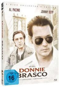 Donnie Brasco (3 Disc Limited Mediabook, Blu-ray+DVD, Cover B) (1997) [Blu-ray]