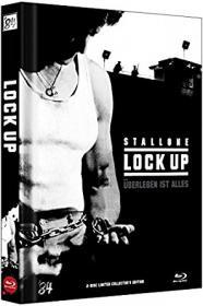 Lock Up - Überleben ist alles (Limited Mediabook, Blu-ray+DVD, Cover C) (1989) [FSK 18] [Blu-ray]