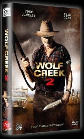 Wolf Creek 2 (3 Disc Limited Uncut Hartbox, Blu-ray + 2 DVDs, Cover A) (2013) [FSK 18] [Blu-ray]