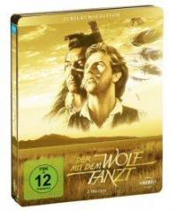Der mit dem Wolf tanzt (Special Steel Edition, 2 Discs) (1990) [Blu-ray]