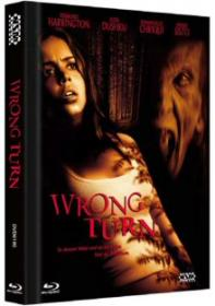 Wrong Turn (Limited Mediabook, Blu-ray+DVD) (2003) [Blu-ray] [Gebraucht - Zustand (Sehr Gut)]