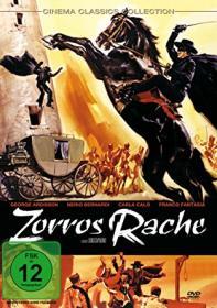Zorros Rache (1962)