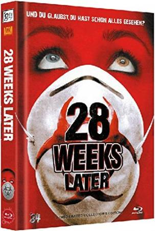 28 Weeks Later (Limited Mediabook, Blu-ray+DVD, Cover A) (2007) [FSK 18] [Blu-ray]