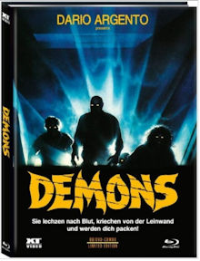 Dämonen 2 - Dance of the Demons 1 (Limited Mediabook, Blu-ray+DVD, Cover A) (1985) [FSK 18] [Blu-ray]