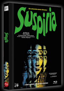 Suspiria (2 Disc Limited Mediabook, Blu-ray+DVD, Cover C) (1977) [FSK 18] [Blu-ray]