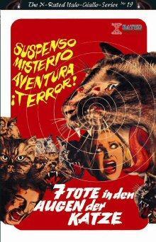 7 Tote in den Augen der Katze (Große Hartbox, Cover B) (1973) [FSK 18]