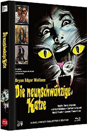 ihr uncut dvd shop die neunschw nzige katze limited mediabook 3 disc blu ray 2 dvds cover. Black Bedroom Furniture Sets. Home Design Ideas