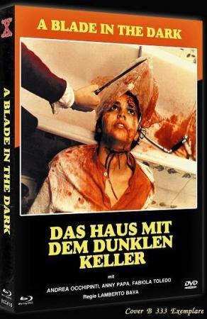 A Blade in the Dark - Das Haus mit dem dunklen Keller (Limited Mediabook, Blu-ray+DVD, Cover B) (1983) [FSK 18] [Blu-ray]