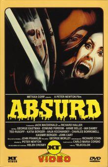 Absurd (Große Hartbox, Cover A, Limitiert auf 666 Stück) (1981) [FSK 18]