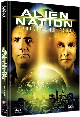 Alien Nation - Spacecop L.A. 1991 (Limited Mediabook, Blu-ray+DVD, Cover A) (1988) [Blu-ray]