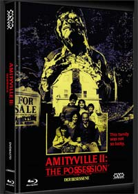 Amityville 2 - Der Besessene (Limited Mediabook, Blu-ray+DVD, Cover D) (1982) [FSK 18] [Blu-ray]