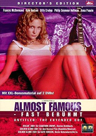 Almost Famous - Fast berühmt (2 DVDs Director's Cut) (2000) [Gebraucht - Zustand (Sehr Gut)]