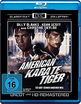 American Karate Tiger (Uncut) (1994) [Blu-ray]