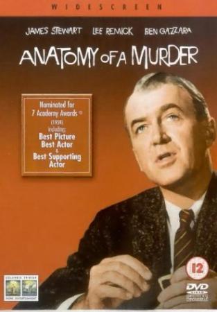 Anatomie eines Mordes (1959) [UK Import mit dt. Ton]