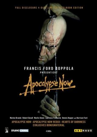 Apocalypse Now - Full Disclosure (inkl. Apocalypse Now / Apocalypse Now Redux / Hearts of Darkness) (4 DVDs Deluxe Edition im Steelbook) (1979)