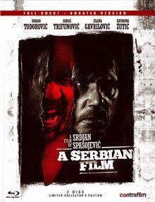 A Serbian Film (Full Uncut, 2 Disc Mediabook, Blu-ray+DVD) (2010) [FSK 18] [Blu-ray]