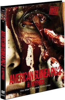 American Guinea Pig 2 - Bloodshock (Limited Mediabook, Cover C) (2015) [FSK 18]