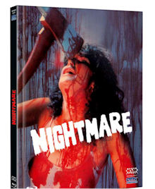 Nightmare in a Damaged Brain (Limited Mediabook, Blu-ray+DVD, Cover D) (1981) [FSK 18] [Blu-ray]