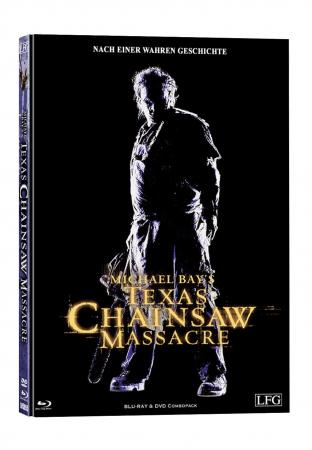 Michael Bay's Texas Chainsaw Massacre (Limited Mediabook, Blu-ray+DVD, Cover C) (2003) [FSK 18] [Blu-ray]