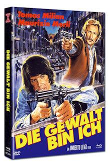 Die Gewalt bin ich (Limited Mediabook, Blu-ray+DVD, Cover B) (1977) [FSK 18] [Blu-ray]