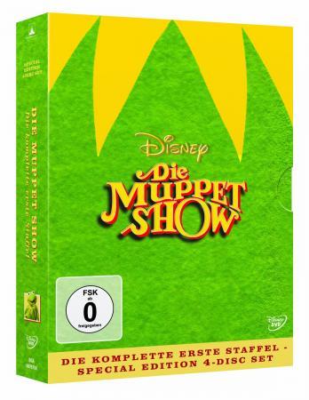 Die Muppet Show - Die komplette erste Staffel (Special Edition, Digipak im beflockten Schuber) (4 DVDs)
