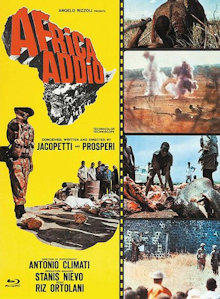 Africa Addio (Limited Mediabook, Blu-ray+DVD, Cover C) (1966) [FSK 18] [Blu-ray]