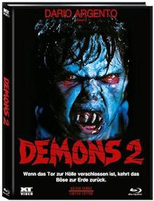 Dämonen - Dance of the Demons 2 (Limited Mediabook, Blu-ray+DVD, Cover B) (1986) [FSK 18] [Blu-ray]