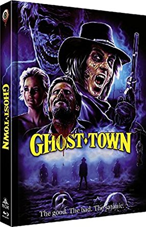 Ghost Town  (Limited Mediabook, Blu-ray+DVD, Cover C) (1988) [Blu-ray]