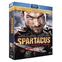 Spartacus: Blood and Sand - Die komplette erste Staffel (3 Discs, Uncut) [EU Import mit dt. Ton] [FSK 18] [Blu-ray]
