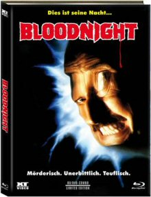 Bloodnight (Limited Mediabook, Blu-ray+DVD, Cover A) (1989) [FSK 18] [Blu-ray]