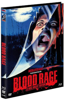 Blood Rage (Limited Mediabook, Blu-ray+2 DVDs, Cover A) (1987) [FSK 18] [Blu-ray]