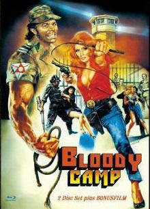 Bloody Camp - Die Folterkammer des Grauens! (Limited Mediabook, Blu-ray+DVD Bonusfilm, Cover A) [FSK 18] [Blu-ray]