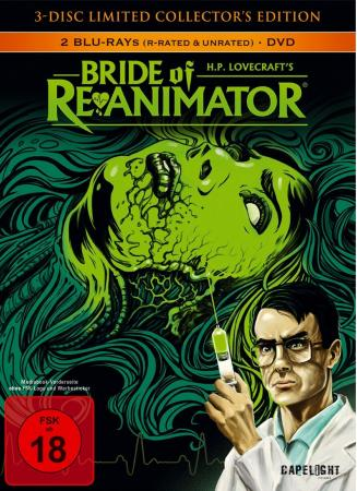 Bride of Re-Animator (Limited Collector's Edition Mediabook, Blu-ray+DVD) (1985) [FSK 18] [Blu-ray]