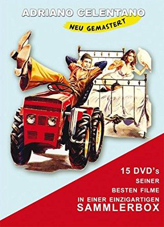 Adriano Celentano Sammlerbox (15 DVDs, limitiert auf 3.000 Stück)