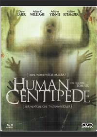 Human Centipede - Der menschliche Tausendfüßler (Uncut, 3D FuturePak) (2009) [FSK 18] [Blu-ray]