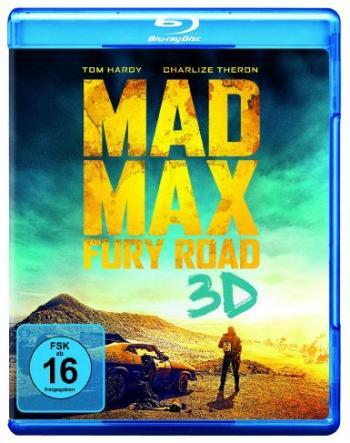 Mad Max: Fury Road (3D Blu-ray+Blu-ray) (2015) [3D Blu-ray]