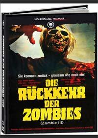 Die Rückkehr der Zombies (Lim. Uncut Mediabook, 2 Blu-rays+DVD+CD) (1980) [FSK 18] [Blu-ray]