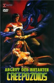 Creepozoids - Angriff der Mutanten (1987) [FSK 18] [Gebraucht - Zustand (Sehr Gut)]