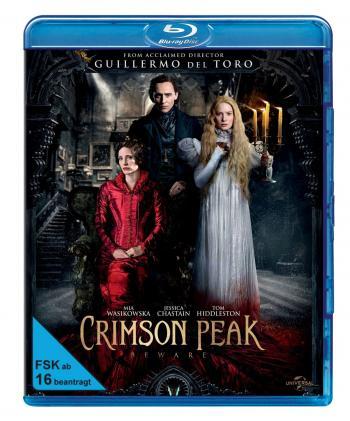 Crimson Peak (2015) [Blu-ray] [Gebraucht - Zustand (Sehr Gut)]