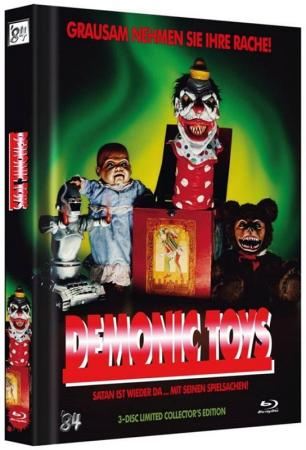 Demonic Toys (Limited Mediabook, Blu-ray+2 DVDs, Cover A) (1992) [FSK 18] [Blu-ray]