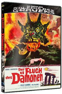 Der Fluch des Dämonen - Die Rache der Galerie des Grauens 1 (Blu-ray+DVD) (1957) [Blu-ray]