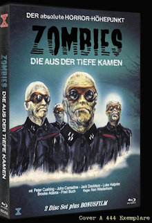 Zombies die aus der Tiefe kamen (Shock Waves) (Limited Mediabook, Blu-ray+DVD, Cover A) (1977) [FSK 18] [Blu-ray]