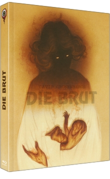 Die Brut (Limited Mediabook, Unrated, Blu-ray+DVD) (1979) [FSK 18] [Blu-ray]