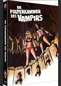 Die Folterkammer des Vampirs - Requiem for a Vampire (Limited Mediabook, Blu-ray+DVD, Cover A) (1971) [FSK 18] [Blu-ray]